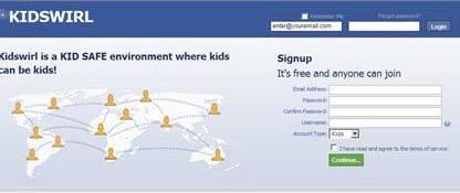 facebook per bambini